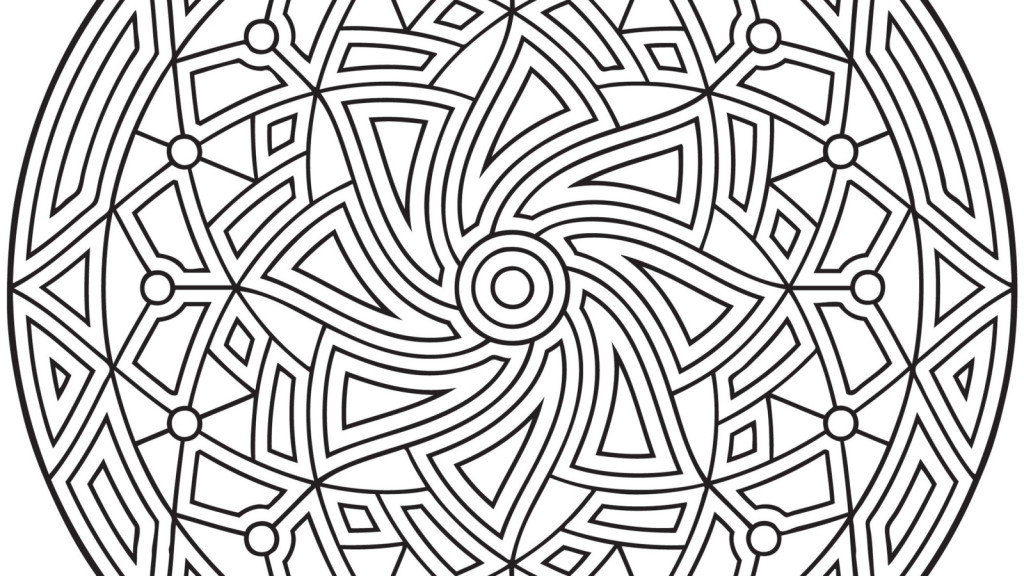 Top 30 Free Printable Geometric Coloring Pages Online   576x1024