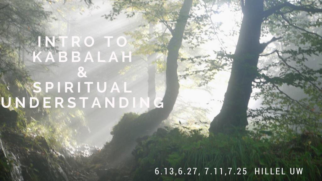 Intro to Kabbalah and Spiritual Understanding: A Series